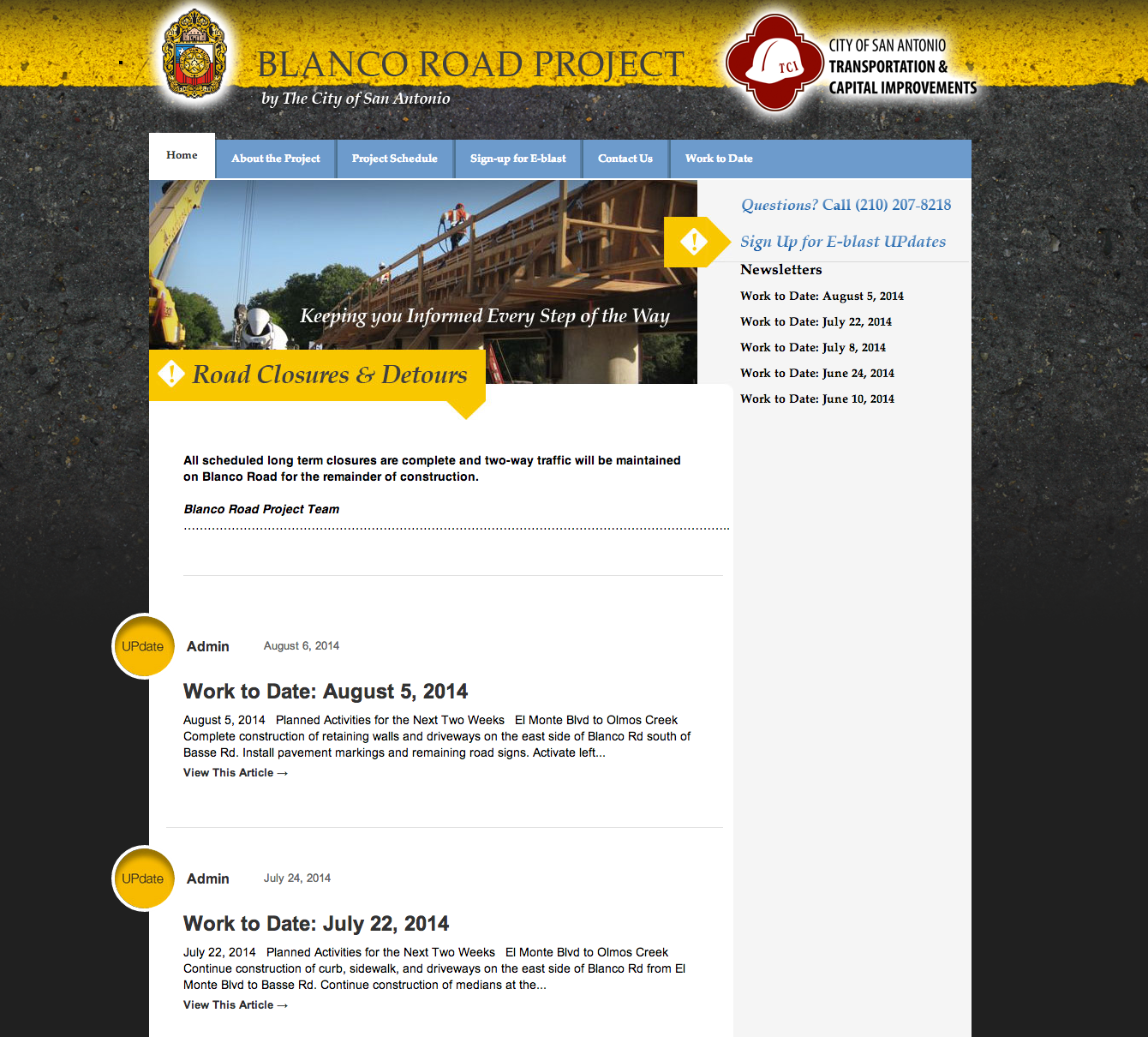 Blanco Rd Project